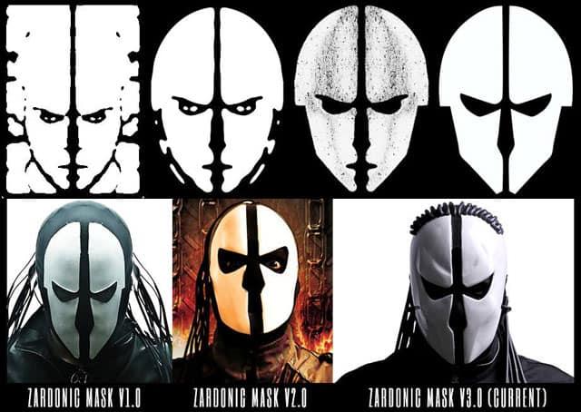 Zardonic-Mask-Evolution